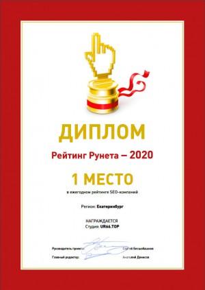 UR66.TOP - лучшая SEO-компания в Екатеринбурге в 2020 году
